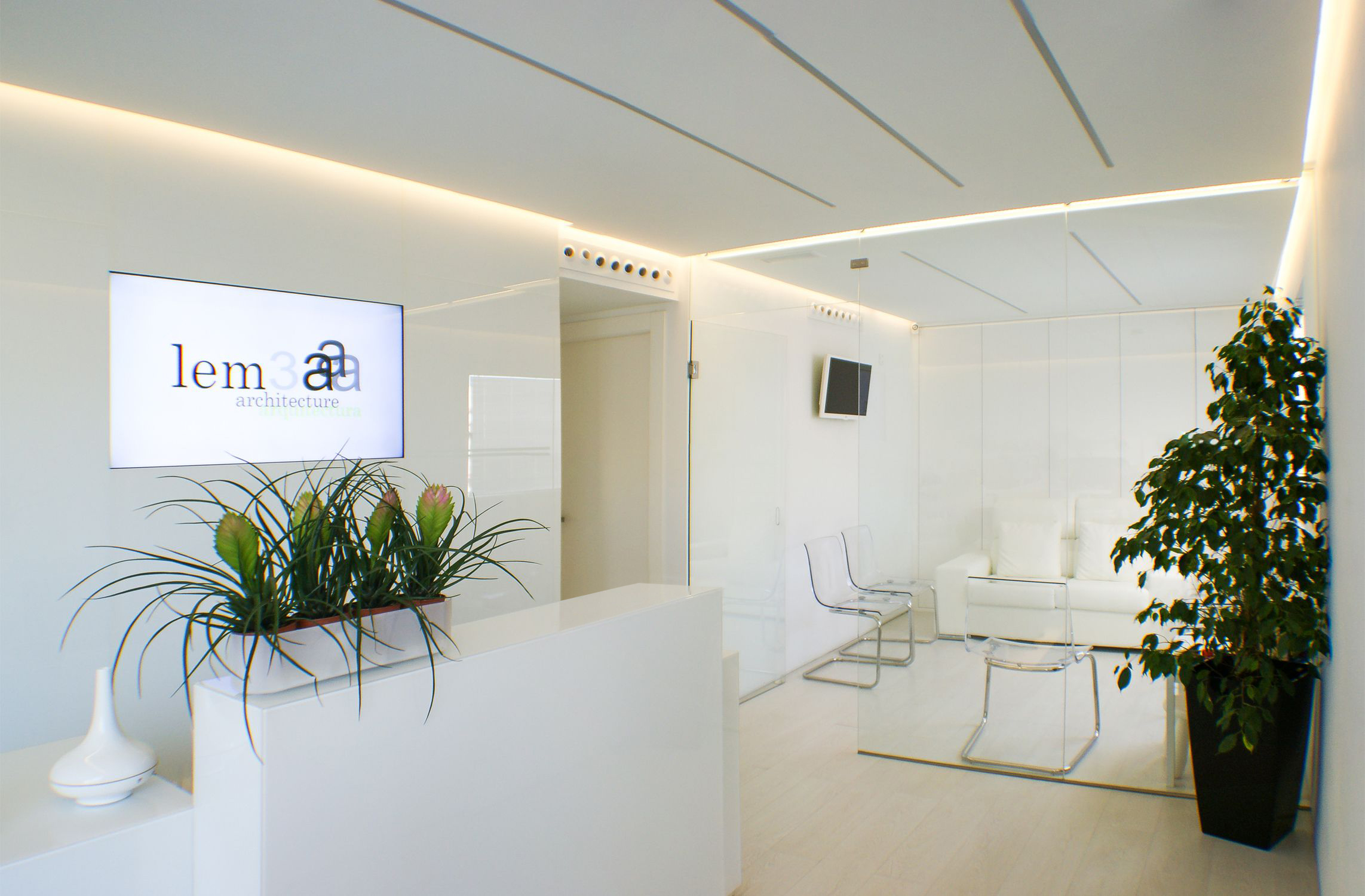 auditus/lem3a office: Reception