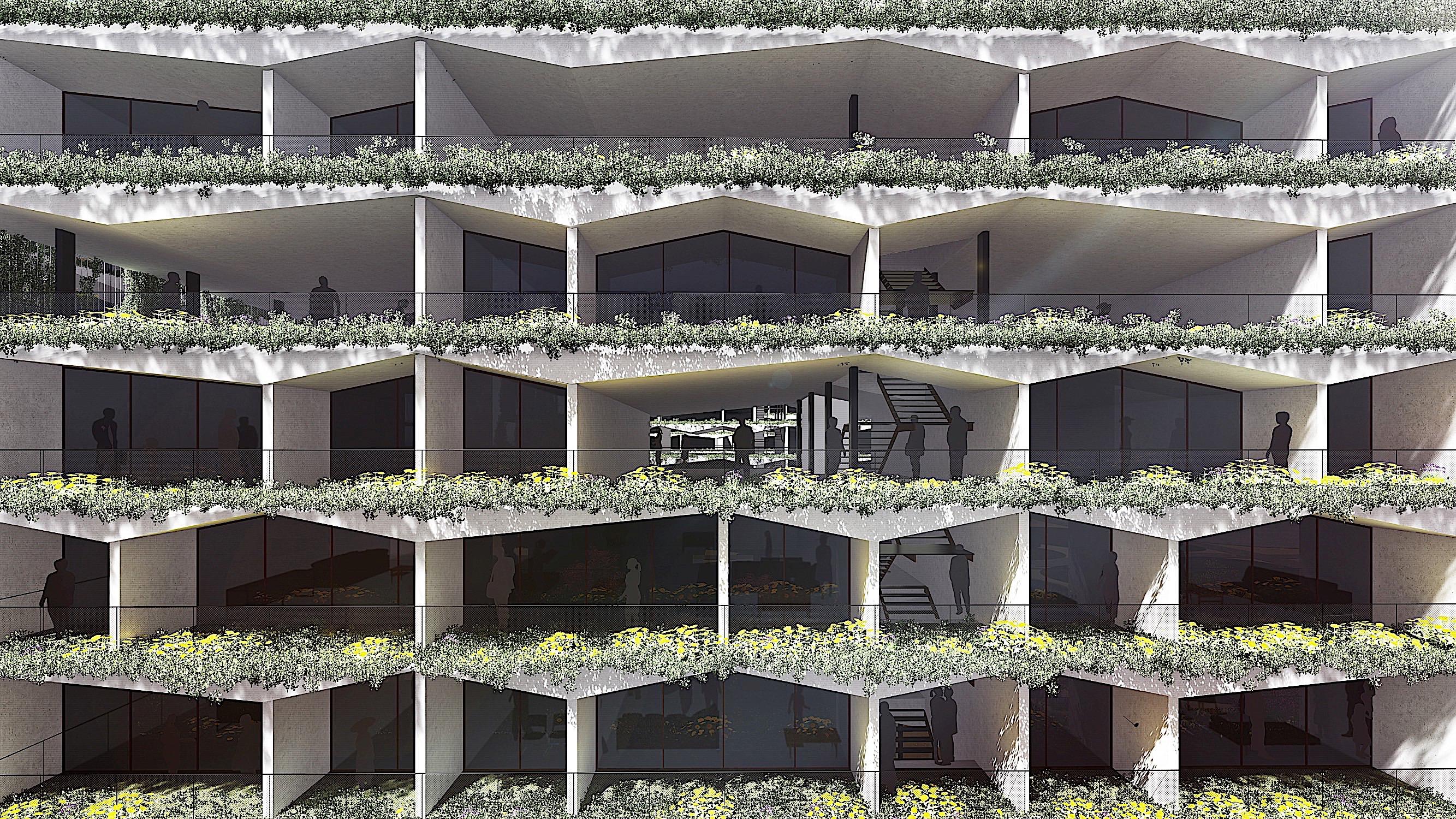 Ciudad jard n vertical system arquitectura - Ciudad jardin malaga ...